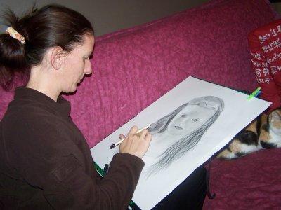 realisation d'un portrait