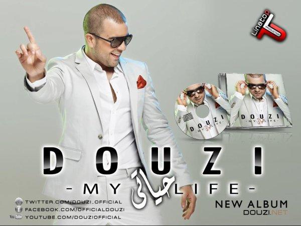 Le Poster Officiel du nouvel album de Douzi ( Hayati )