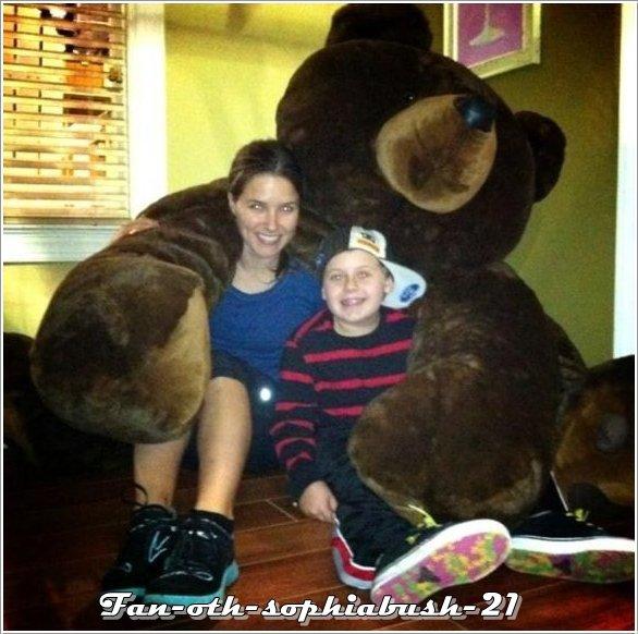 Sophia & Jackson Brundage (le fils de Haley et Nathan dans One Tree Hill)