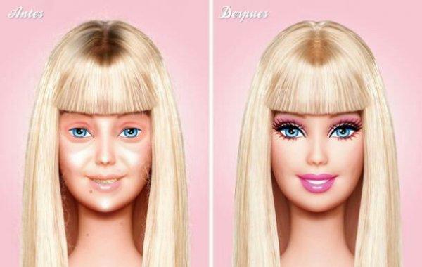 L'esprit... À quel âge commence-t-il a voir besoin de maquillage?