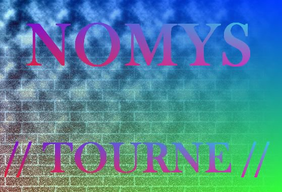 NOMYS - TOURNE cover (2012)