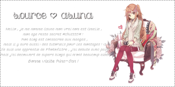 Welcome to my blog ♥ !
