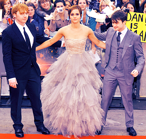Article n°6 ________________Dan, Emma & Rupert ♥