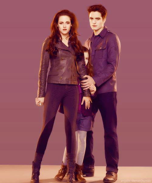 Article n°18 _________________Bella, Edward & Renesmée ♥