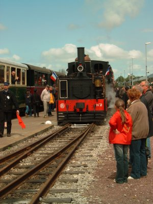 Sortie, fête de la vapeur 2009