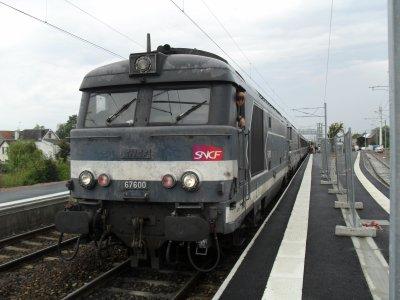 Gare de Rang-du-Fliers, corail intercité