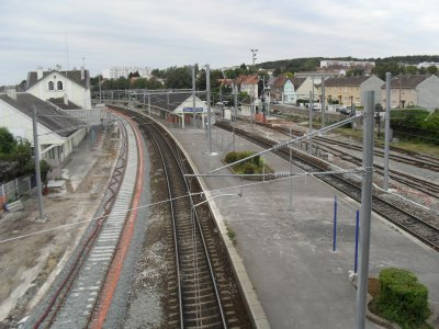 Gare d'Etaples, voies