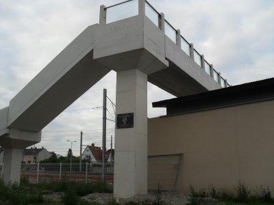 Gare d'Etaples, passerelle