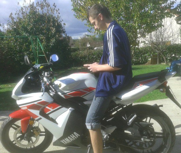 Ma Moto , Une Yamaha TZR en Serie WGP <3