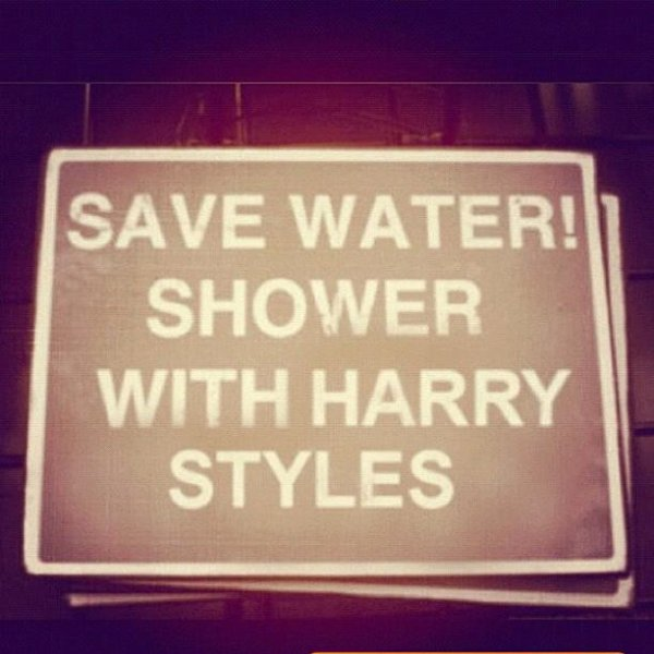 Save water ♥