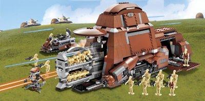 TRADE FEDERATION MTT (7662) - Blog de LEGO-star-wars-droids