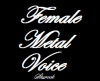 Female-Metal-voice