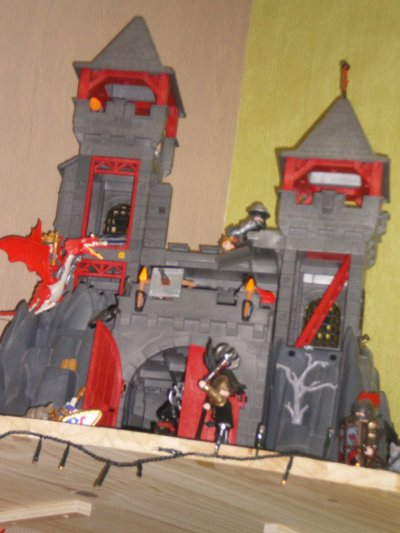 Le chateau du Dragon Rouge