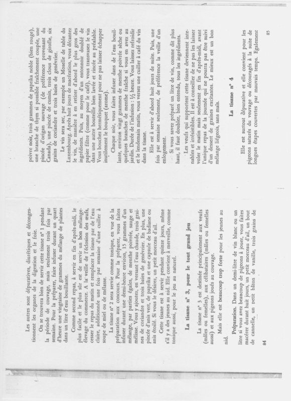 Tisane naturelle ( à faire soi même ) pour les veufs. par Henry LANDERCY