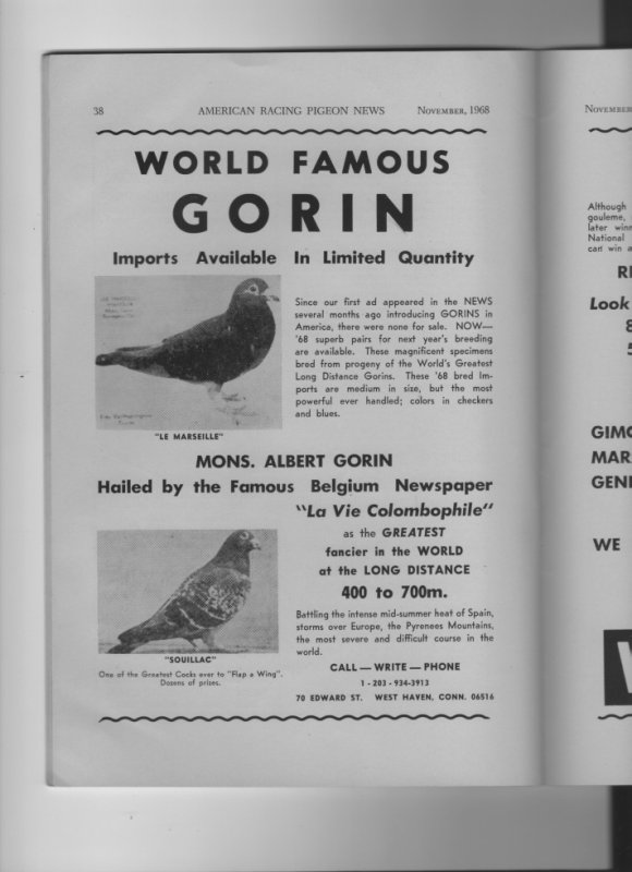 World Falmous GORIN  part one  in USA