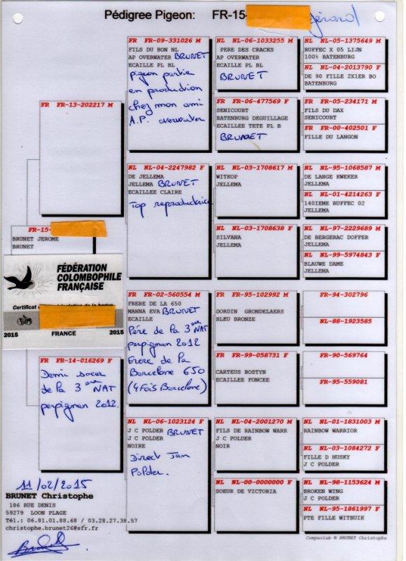 De chez Christophe Brunet acquis en 2015 à FUGARE