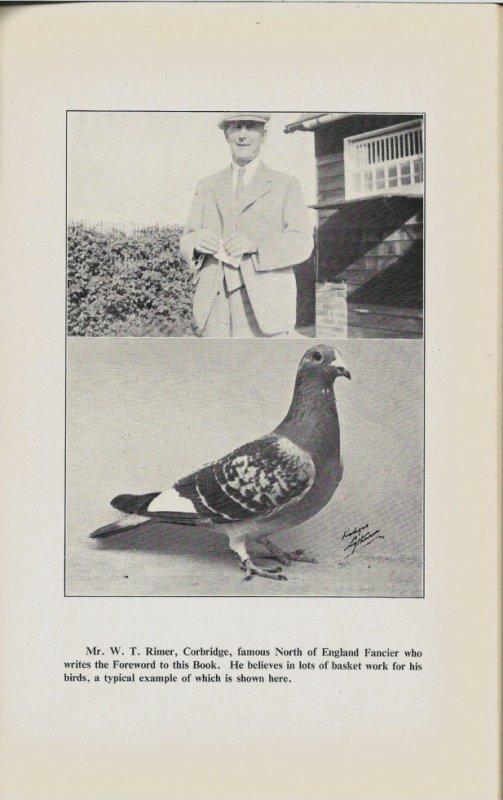 un colombophile anglais en 1946