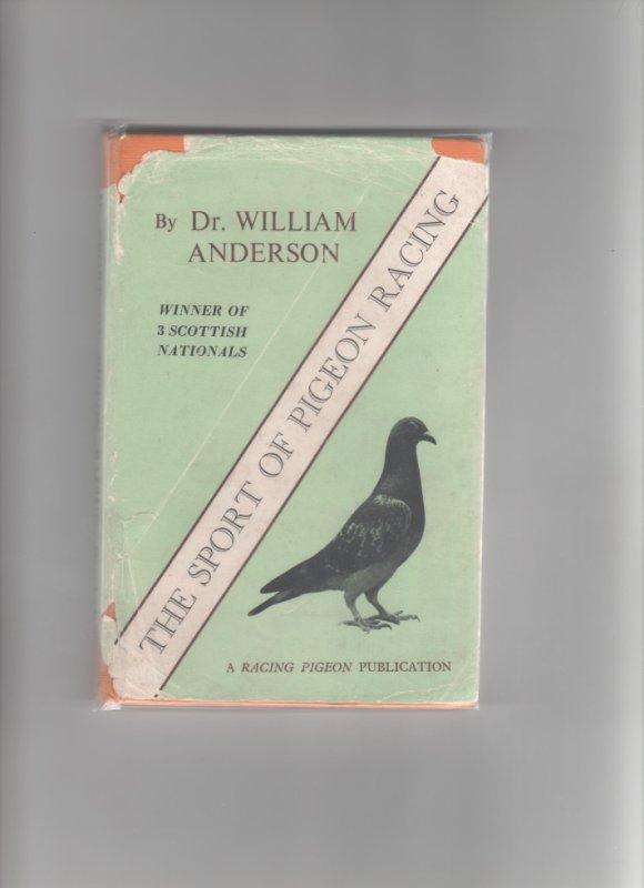 livre écossais - anglais - par le Docteur Anderson ( qui était très connu sur le continent - France et Belgique et les Pays Bas - pour ses achats de pigeons . Il était l' ami de bons nombres de colombophiles réputés de l' époque dont robert Sion