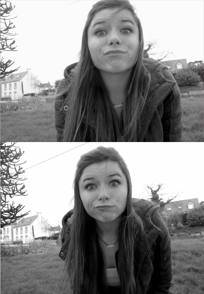 J'ai eu la faiblesse de croire que tu valais un peu mieux que les autres, tu vois. Oui j'ai fait cette erreur. Et maintenant mon sourire est aussi faux que tes sentiments.