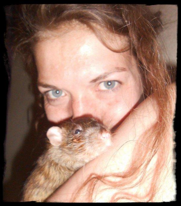 Mes Rats et Leur Humaine (moi)