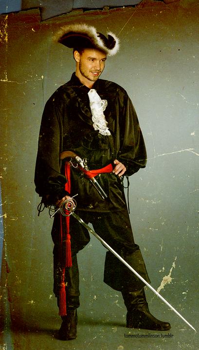 Liam en pirate ♡ !