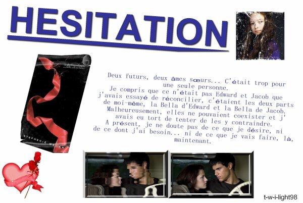 . . HésitationFilm/ Livre . .