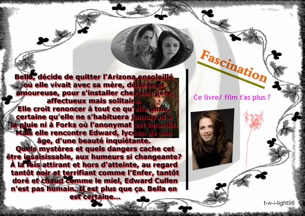. . FascinationLivre/ Film . .