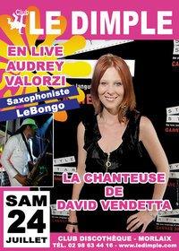 Audrey Valorzi Club music live -  Dimple 24 juillet 2010 !!! à Morlaix (29)