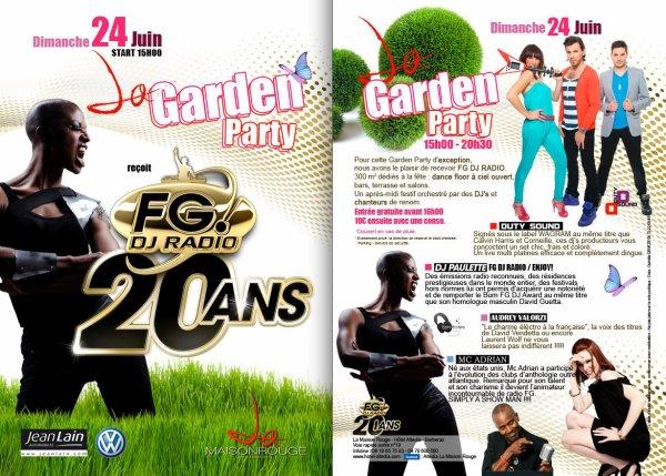 Audrey Valorzi & Dj Paulette - Tournée FG DJ RAdio 20 ans - Garden Party