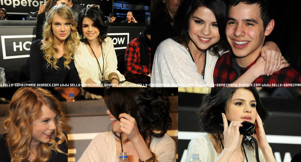 """Selena était au """"Hope for Haiti"""" pour donner des dons pour les habitants d' Haiti"""