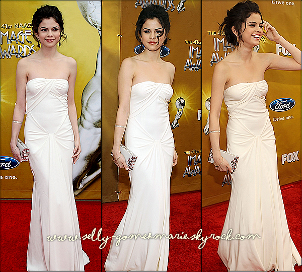 Selena aux NAACP IMAGE AWARDS