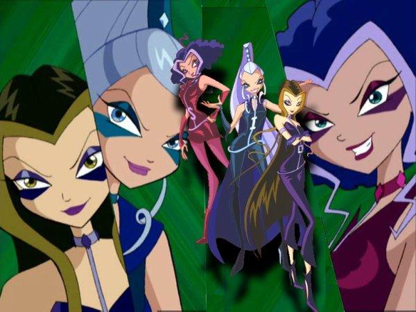Personnages de Winx Club: Les Trix