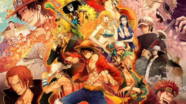 Personnages de One piece: Doflamingo, Law, Kid...