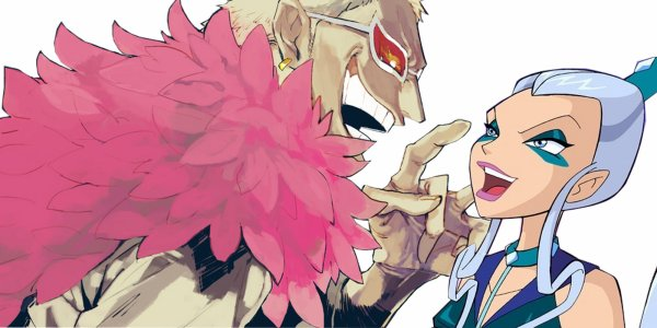 Couple: Doflamingo X Icy One piece & Winx