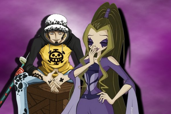 Couple: Law X Darcy One piece & Winx