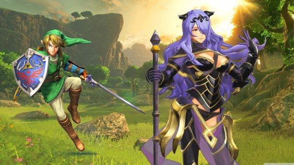Couple : Link x Camilla Zelda & Fire Emblem