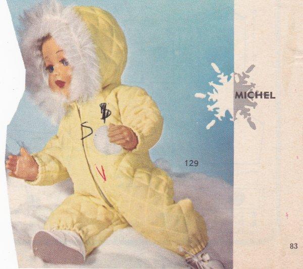Michel se rit des intempéries !