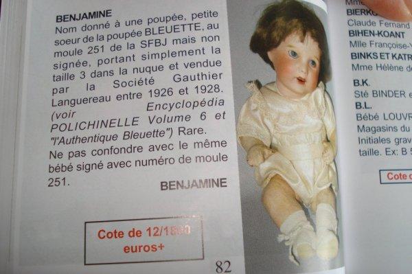 BENJAMINE A CHAUD