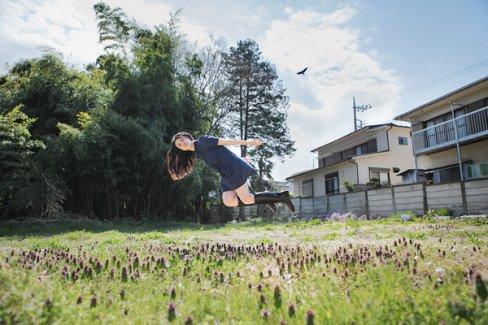 Filles qui volent(sans aucun effet spéciaux)