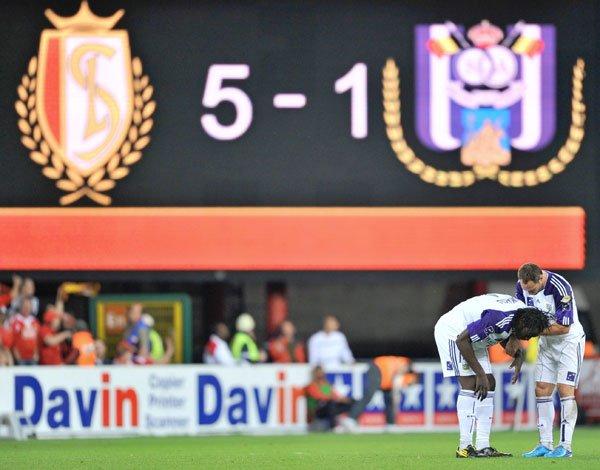 Standard - Anderlecht: 5-1