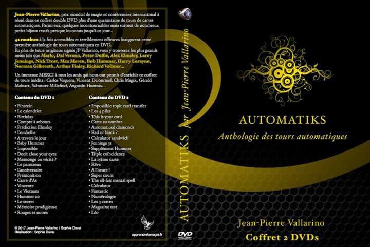 un nouveau Dvd de magie a ne pas manquer Automatiks