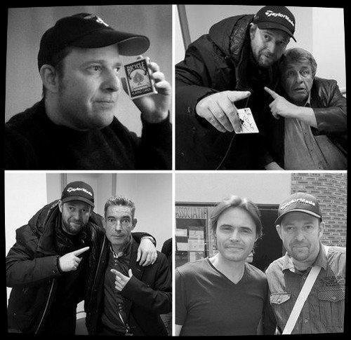 Bernard Bilis ,Mickael Stutzinger,David Stone et Chris-Magik