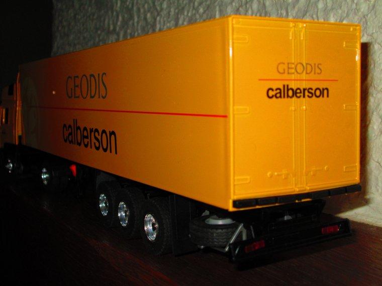 MAN F 2000 SEMI GEODIS CALBERSON (lbs)