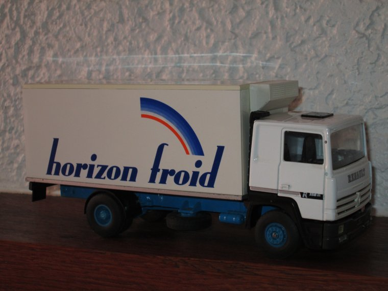 RENAULT R 350 PORTEUR FRIGO HORIZON FROID
