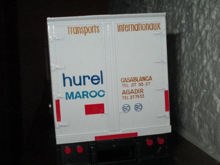 RENAULT R 370 SEMI FRIGO HUREL MAROC