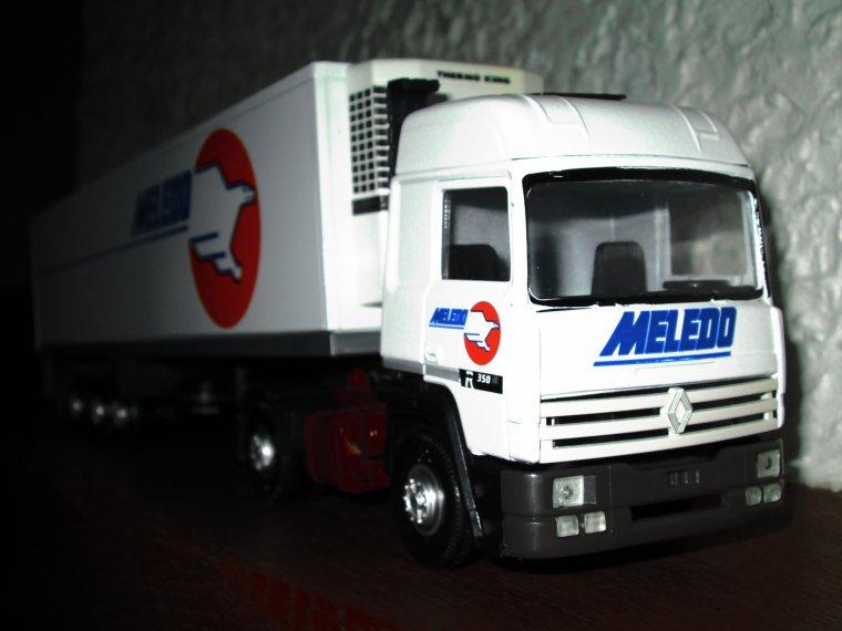 RENAULT R 350  SEMI FRIGO MELEDO