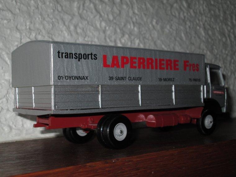 PORTEUR BERLIET TRANSPORTS LAPERRIERE freres