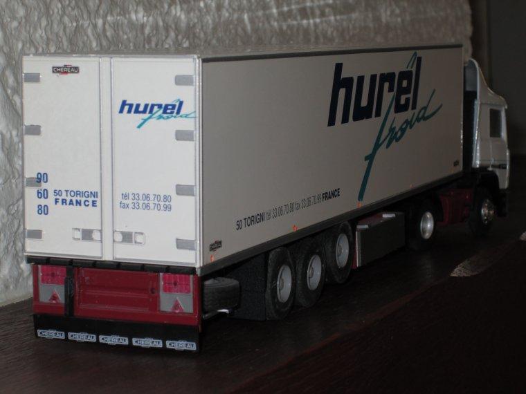 RENAULT R 350 SEMIE FRIGO CHEREAU HUREL FROID
