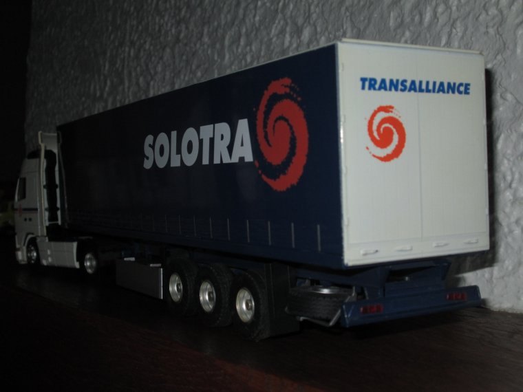 VOLVO FH 12 420 SEMI TAUTLINER SOLOTRA GROUPE TRANSALLIANCE