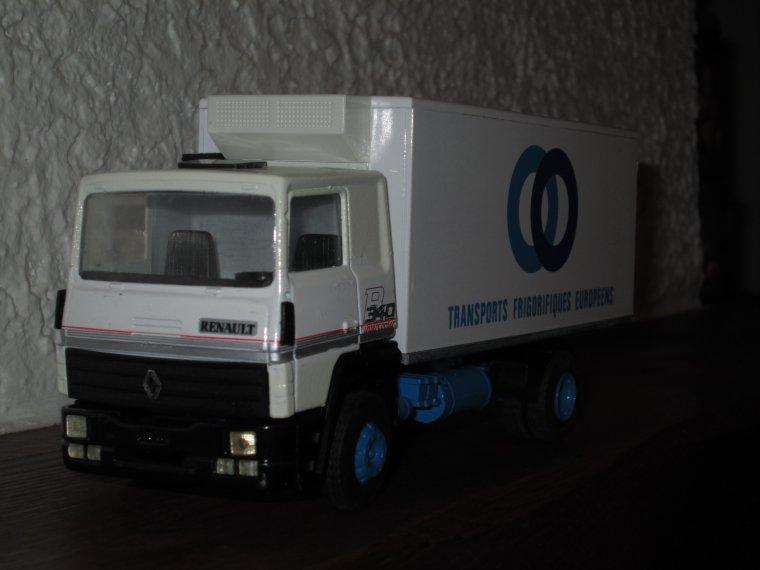 PORTEUR  RENAULT R 340 FRIGO TFE